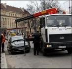 В Украине штрафуют эвакуаторщиков