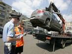 Неправильно припаркованные машины создают проблемы